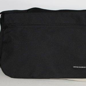 BENETTON Canvas Tote Messenger Bag